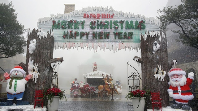 """Lễ hội """"Giáng sinh diệu kỳ 2016"""" tại Khu du lịch Bà Nà Hills"""