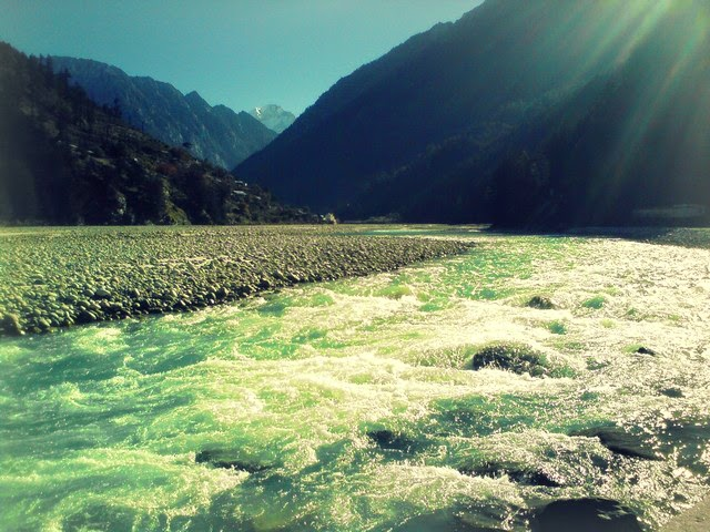 Pure flowing River Ganga