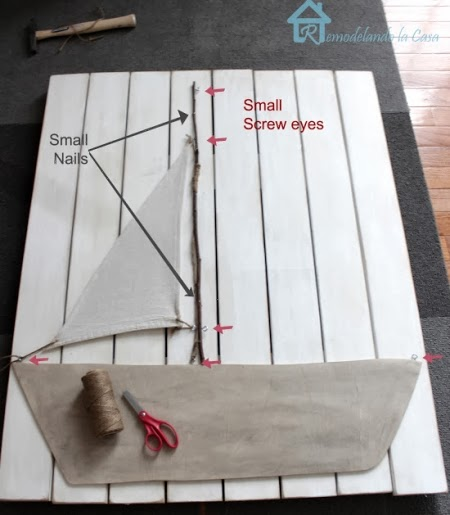 make a sailboat