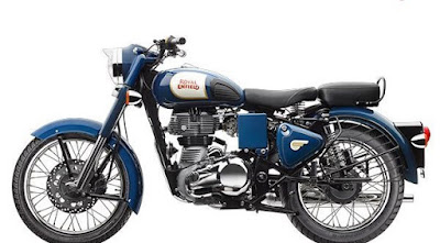 Royal Enfield Classic 350 left side look