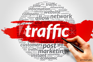 traffic blog adalah