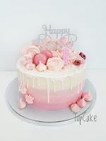 Vaalaenpunainen kakku