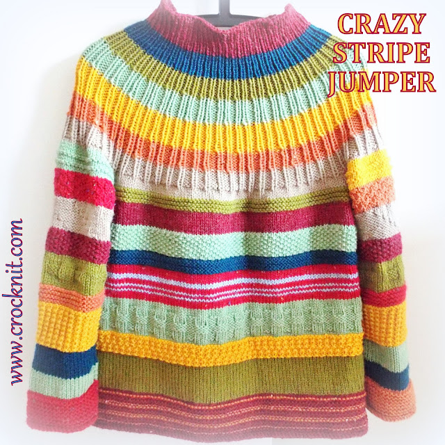 knit patterns, how to knit, knitting patterns, jumper, pullover, sweater, striped, multicolour,