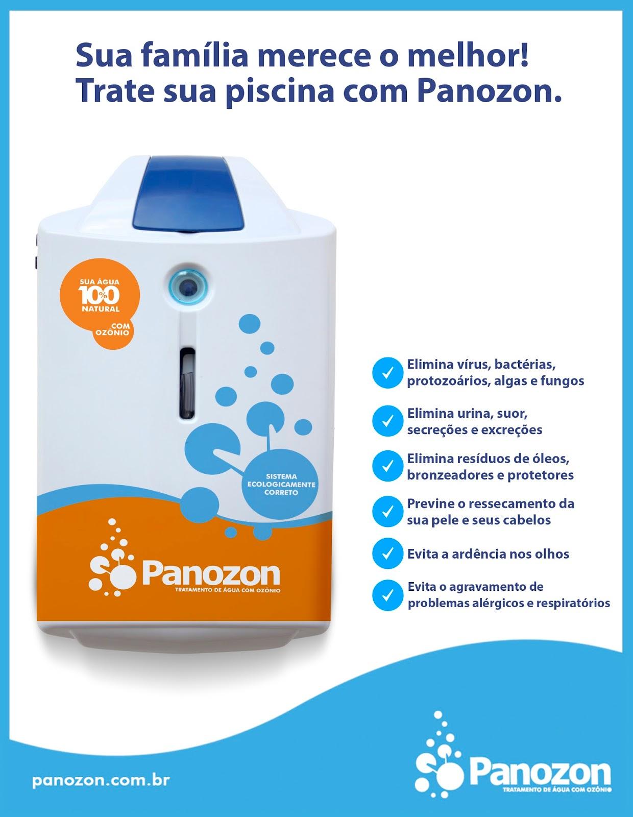 Como tratar piscina com ozônio - Sistema Panozon