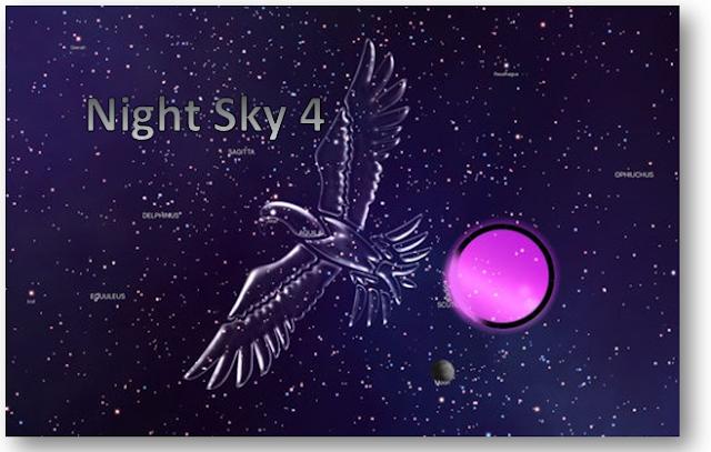 $0.99 Night Sky 4 is 'Free App of the Week' on App Store.