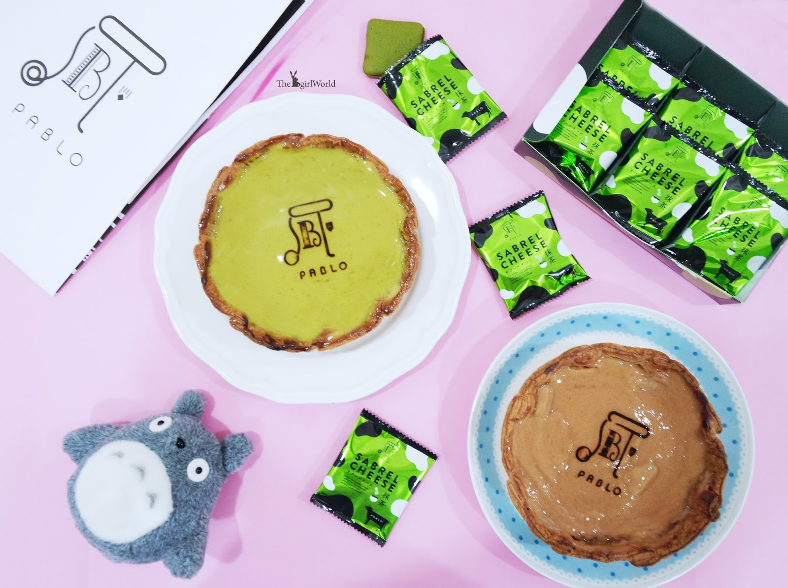 Pablo Freshly Baked Matcha Cheese Tart With Shiratama And Azuki Sabrel Personally Like The Frute Especially After I Keep It Into Fridge Take Out To Savour Refined