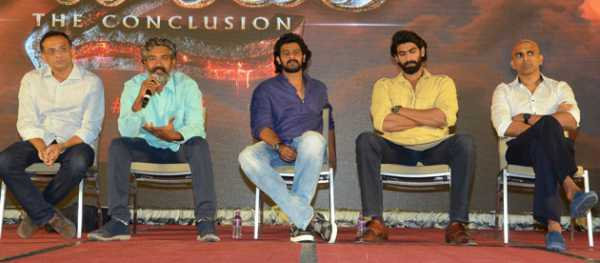 Baahubali 2 The Conclusion Press Meet Highlights