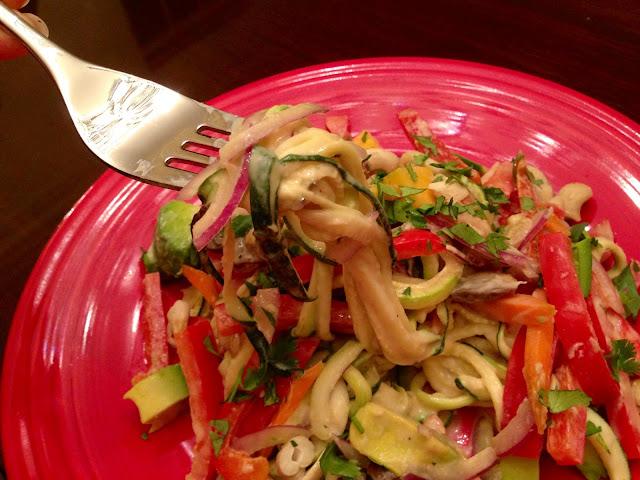 Paleo Pad Thai! By BeautyBeyondBones - #grainfree #glutenfree #vegan #vegetarian #food #edrecovery