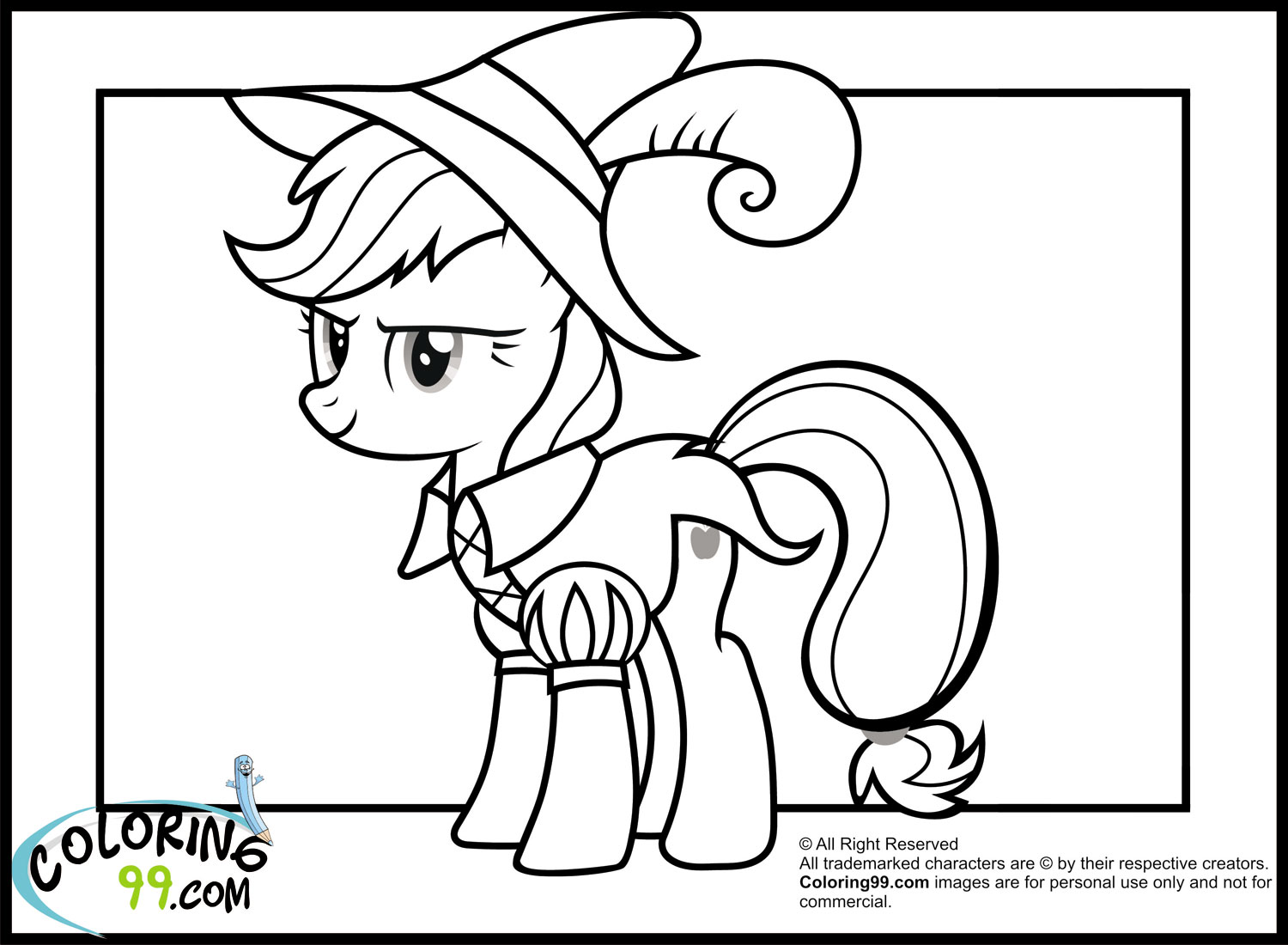 My Little Pony Coloring Pages Applejack Baby Rainbow Dash Page