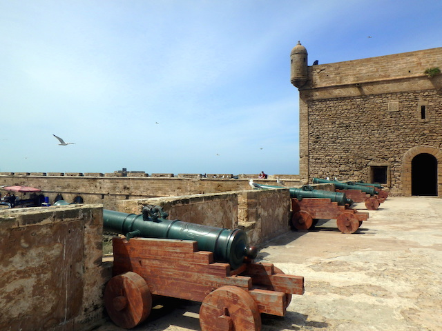 Harbor sqala Essaouira, Morocco