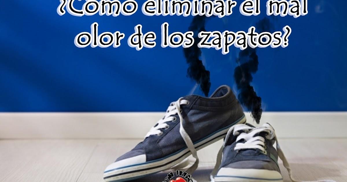 ¿Cómo eliminar el mal olor de los zapatos?