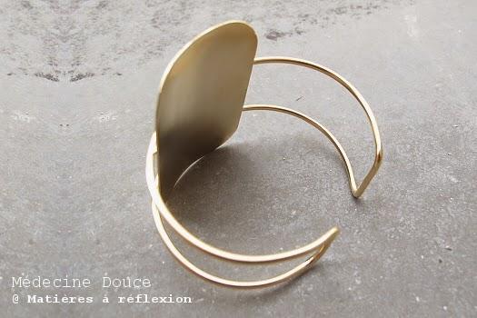 Bracelet Médecine Douce Manchette XL
