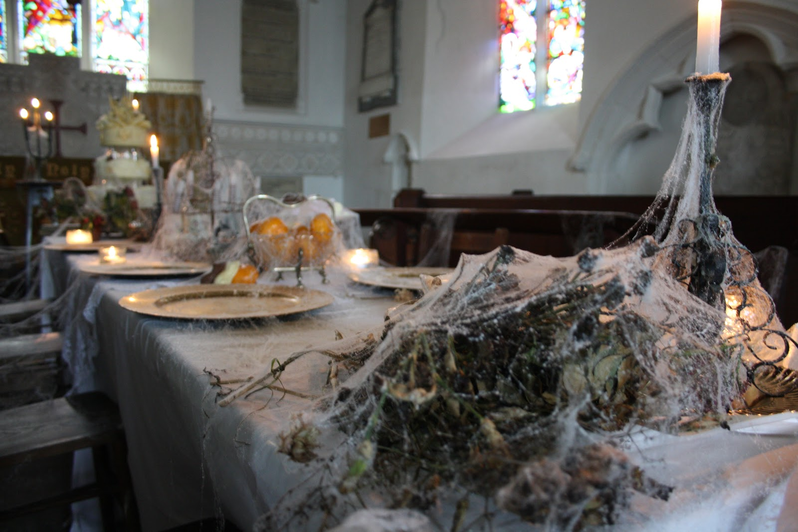 Hope & Chances Creativity: Miss Havisham's Tea Party