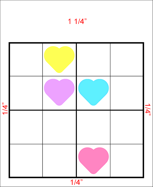 sudoku puzzle page cutting diagram