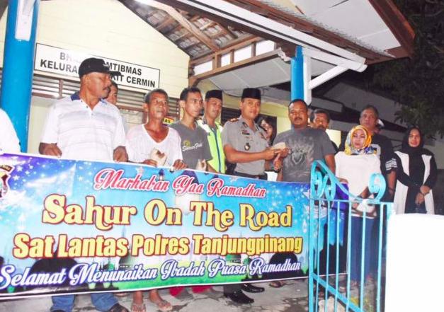 """""""Sahur On The Road """" Bersama Kapolres Tanjungpinang"""