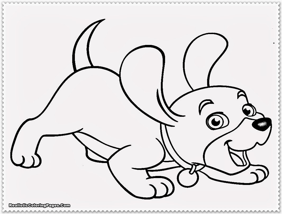 Puppy coloring pages realistic coloring pages for Coloring pages of dogs