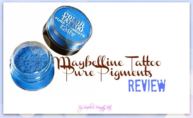 Maybelline Tattoo Pure Pigments review by Barbie's Beauty Bits