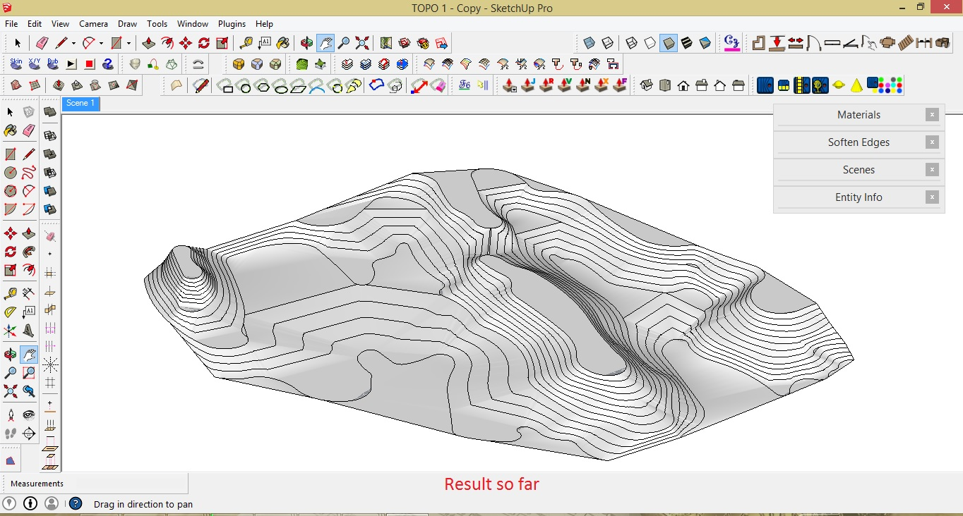 l arch viz how to make a topographic map using sketchup