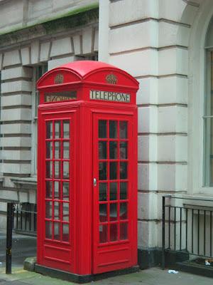 Cabina de teléfono en Londres