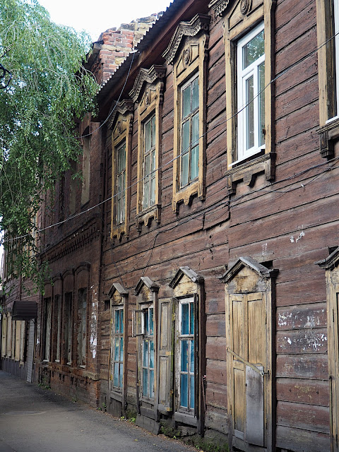 Иркутск, улица Тимирязева (Irkutsk, Timiryazev street)