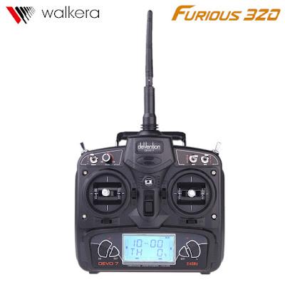 Spesifikasi Walkera Furious 320 - GudangDrone