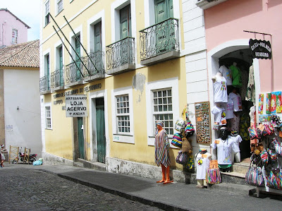 Centro Artesanato Pelourinho,  Salvador de Bahía, Brasil, La vuelta al mundo de Asun y Ricardo, round the world, mundoporlibre.com