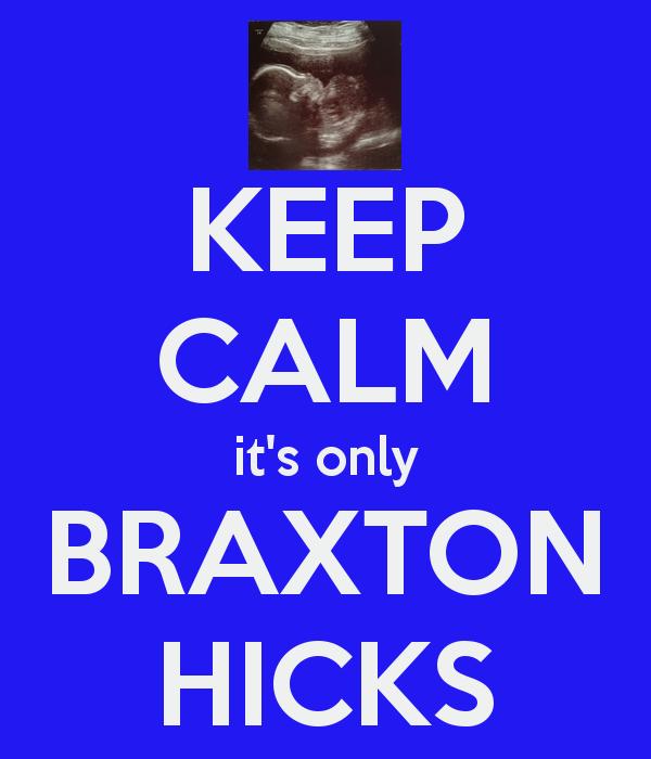 Cuaknya Bila Dilanda Braxton Hicks