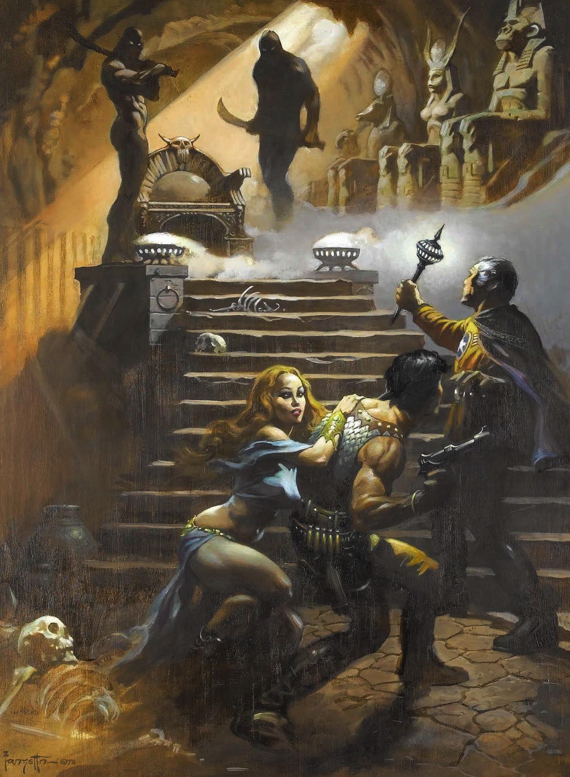 Cap N S Comics Battlestar Galactica By Frank Frazetta