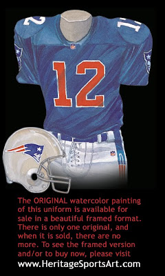 New England Patriots 1993 uniform