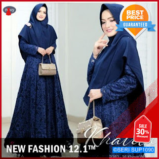 SUP1090G38 Gamis Brokat Khalifa Dress Kebaya Murah BMGShop