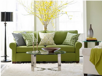 Lounges in green color 2
