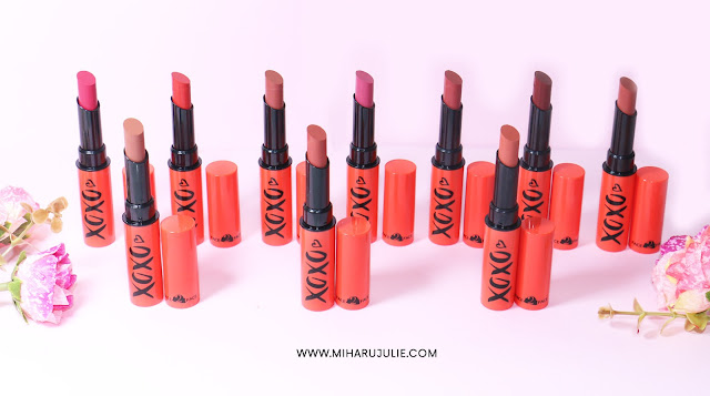Face2Face cosmetics XOXO Matte Lipstick Swatch