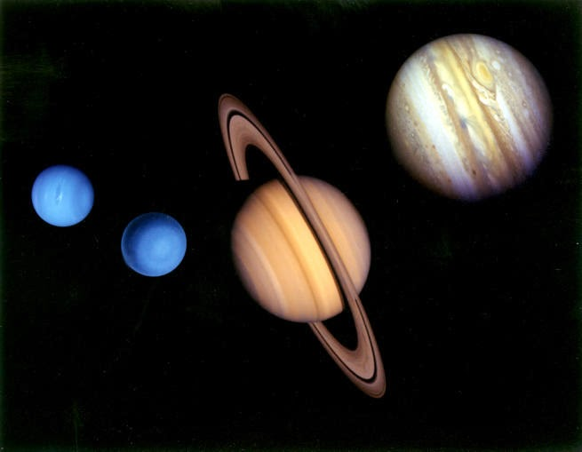 about the four outer planets - photo #19