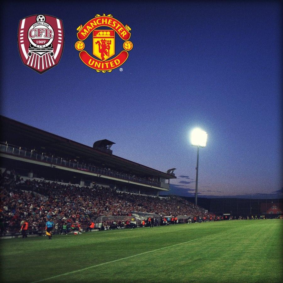 Cfr Cluj: Champions League Match Gallery, CFR Cluj Vs Manchester