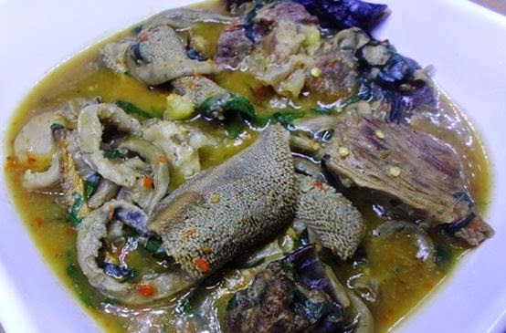 How to prepare nigerian post delivery white soup ofe nsala forumfinder Images