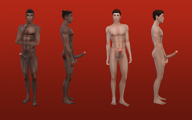 Naked in sims naked in skins — pic 1