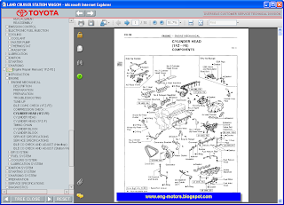 Toyota Land Cruiser workshop manual