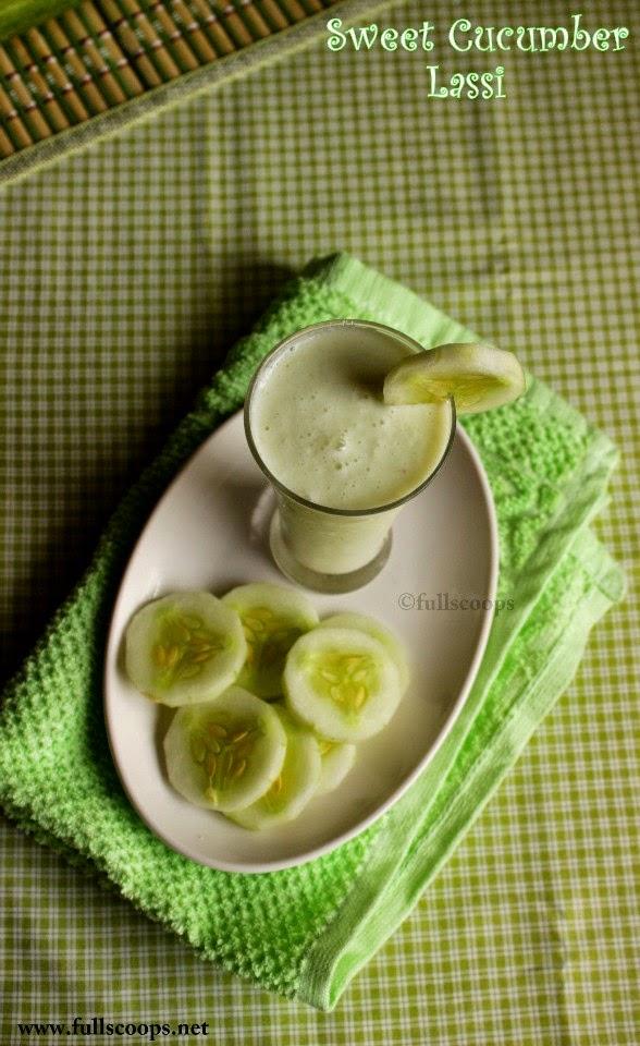 Sweet Cucumber Lassi