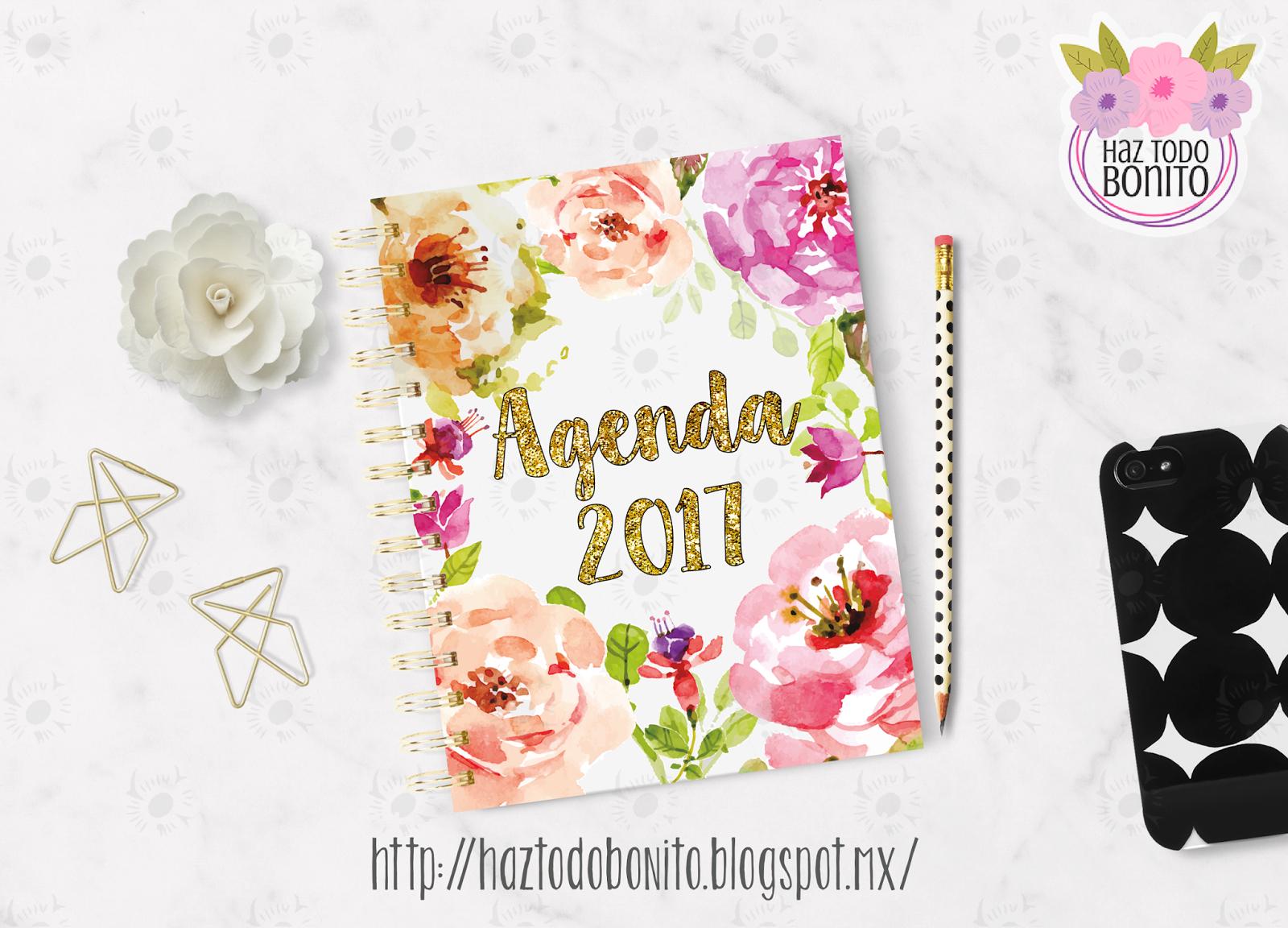 Agenda Haz Todo Bonito 2017 - Haz Todo Bonito