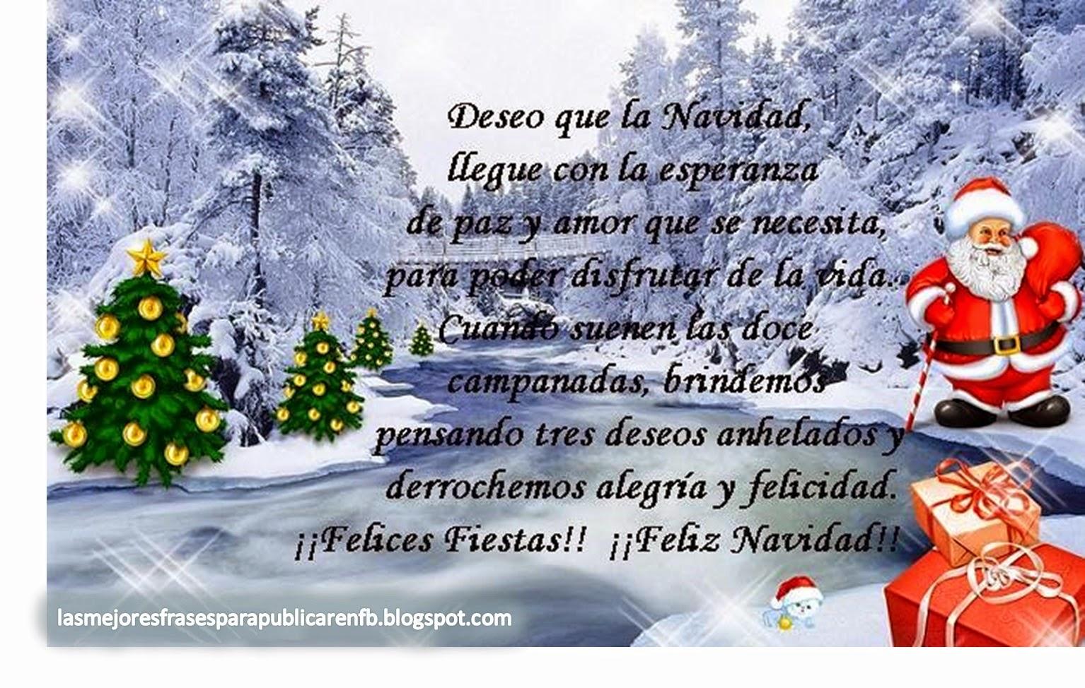 Frases De Navidad: Deseo Que La Navidad