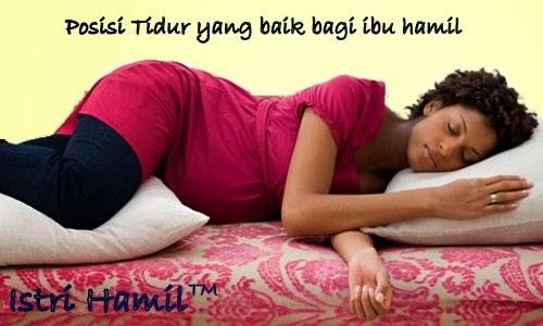 Posisi tidur terbaik ibu hamil