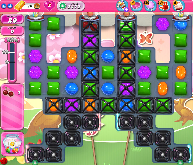 Candy Crush Saga level 2472