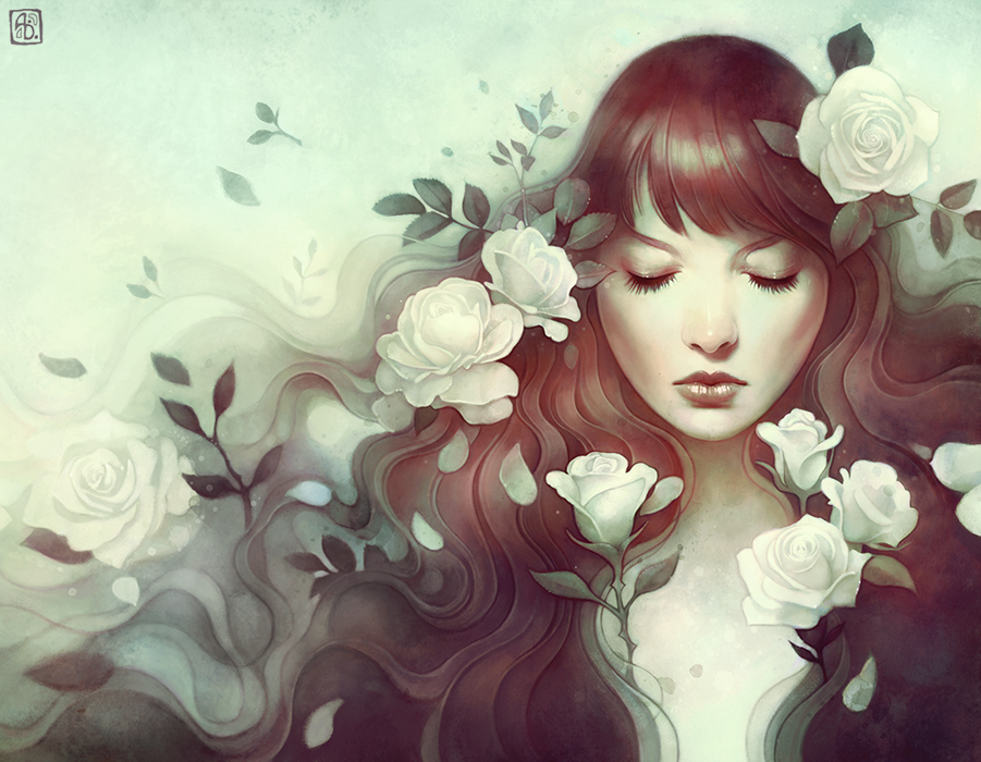 the geeky nerfherder coolart the candor of the rose by anna