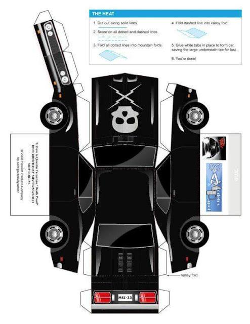 Pelbagai Model Kereta Mainan Kertas | Aktiviti Menarik Gunting, Tampal dan Siap