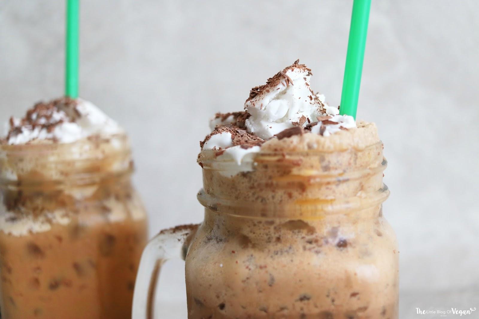 How To Make The Best Vegan Starbucks Java Chip Frappuccino
