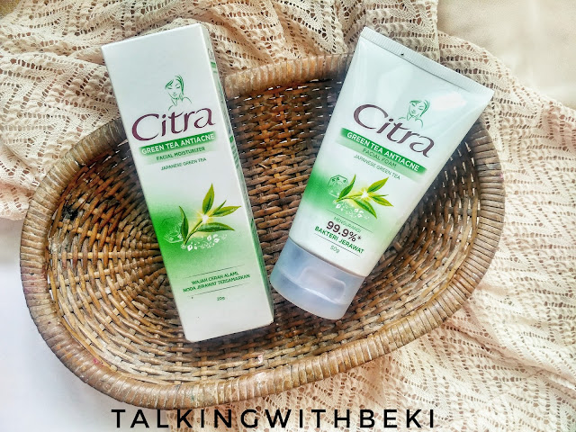 Review Citra Green Tea Anti Acne Series