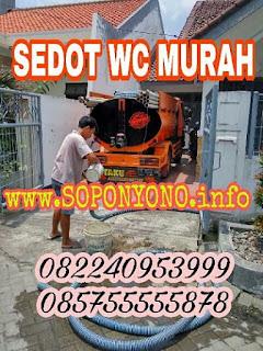 SEDOT WC MURAH SURABAYA