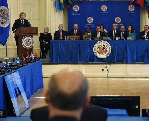OEA pide cese de intimidación a líderes opositores de cara al 1-S