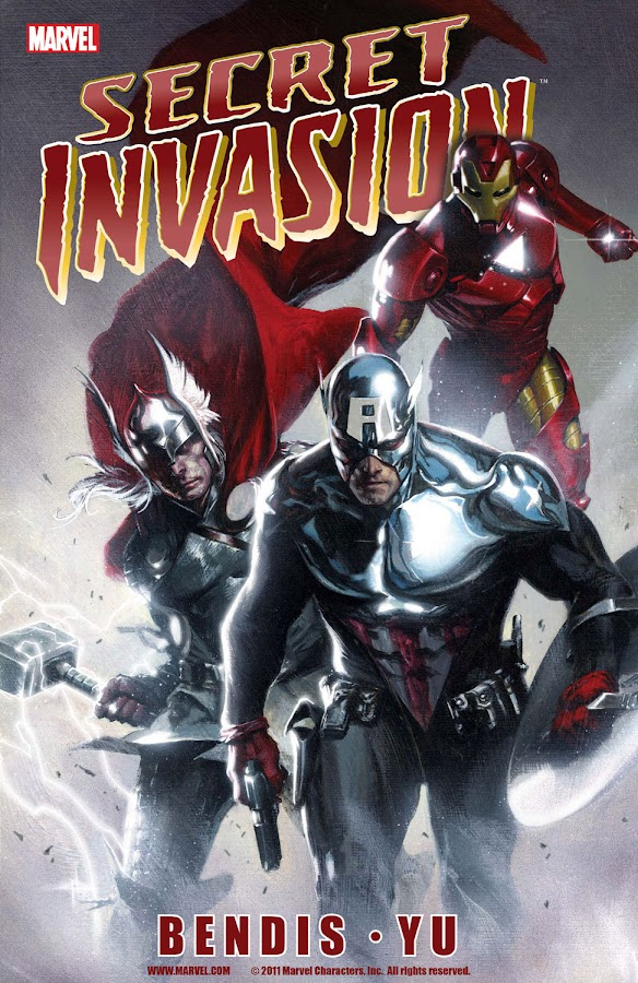 secret invasion comics