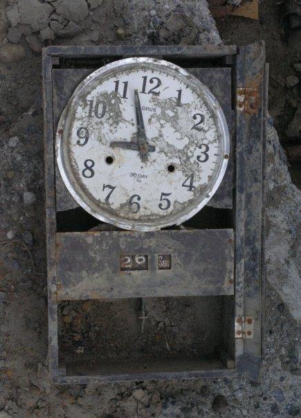 Misteri jarum jam berhenti saat tsunami di aceh